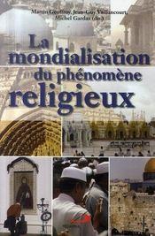 La mondialisation du phénomène religieux - Intérieur - Format classique