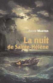 La nuit de sainte-Hélène - Couverture - Format classique