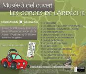 Les gorges de l'Ardèche ; de Saint-Martin-d'Ardèche à Vallon-Pont-d'Arc - 4ème de couverture - Format classique
