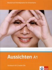 Aussichten ; allemand ; a1 ; livre de l'élève + 2 cd - Couverture - Format classique