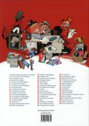 Les aventures de Spirou et Fantasio T.52 ; la face cachée du Z - 4ème de couverture - Format classique