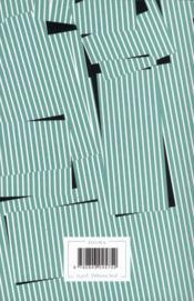 Cartons - 4ème de couverture - Format classique