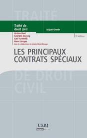Les principaux contrats spéciaux (3e édition) - Couverture - Format classique