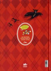 Les aventures fantastiques de Sacré Coeur ; le vampire de la tour Eiffel - 4ème de couverture - Format classique