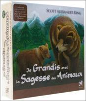 Je grandis avec la sagesse des animaux ; coffret - Couverture - Format classique