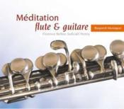 Méditation ; flute & guitare - Couverture - Format classique