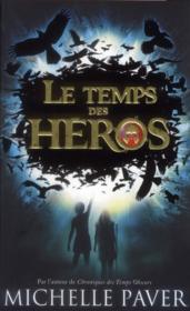 Le temps des héros t.1 ; le feu bleu - Couverture - Format classique