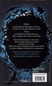 Le temps des héros t.1 ; le feu bleu - 4ème de couverture - Format classique