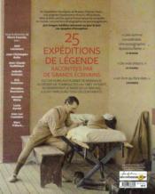 Aventuriers du monde (édition 2012) - 4ème de couverture - Format classique