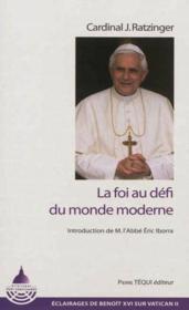 Éclairages post-conciliaires t.2 ; les principes de la foi - Couverture - Format classique