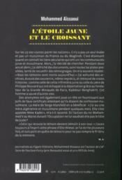 L'étoile jaune et le croissant - 4ème de couverture - Format classique