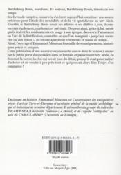 Un marchand au Moyen âge - 4ème de couverture - Format classique