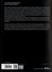 Data Toutachkia - 4ème de couverture - Format classique