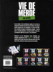 Vie de merde t.10 ; les profs - 4ème de couverture - Format classique