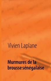 Murmures de la brousse sénégalaise ; poèmes - Couverture - Format classique