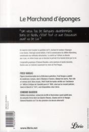 Le marchand d'éponges - 4ème de couverture - Format classique
