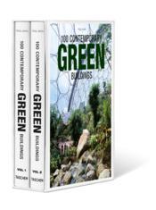 100 contemporary green buildings - Couverture - Format classique