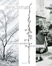 Premières années en Provence - Couverture - Format classique