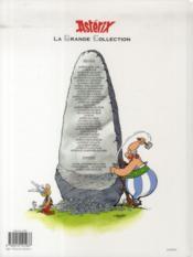 Astérix t.24 ; Astérix chez les Belges - 4ème de couverture - Format classique