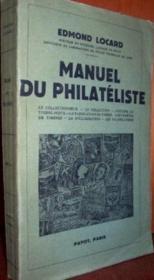 Manuel du philatéliste. - Couverture - Format classique