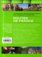 GEOBOOK ; routes de France - 4ème de couverture - Format classique