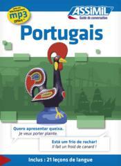GUIDES DE CONVERSATION ; portugais - Couverture - Format classique