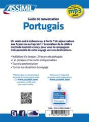 GUIDES DE CONVERSATION ; portugais - 4ème de couverture - Format classique
