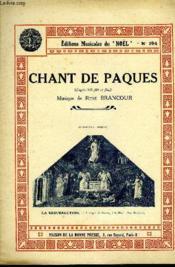 Chant De Paques - Couverture - Format classique