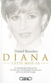 Diana ; cette nuit-là - Couverture - Format classique