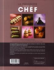 La pâtisserie comme un chef - 4ème de couverture - Format classique
