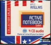 Active notebook bts 2 anglais galee audio - Couverture - Format classique