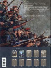 14-18 T.2 ; les chemins de l'enfer (septembre 1914) - 4ème de couverture - Format classique