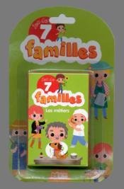 Jeux de 7 familles ; jeu des 7 familles ; les métiers - Couverture - Format classique