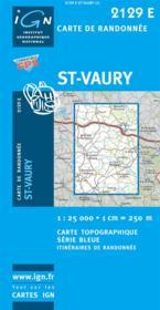 Saint Vaury - Couverture - Format classique