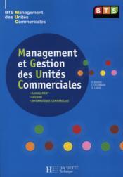 BTS MUC ; livre de l'élève (édition 2008) - Couverture - Format classique