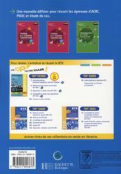 BTS MUC ; livre de l'élève (édition 2008) - 4ème de couverture - Format classique