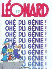 Léonard t.17 ; ohé du génie ! - Intérieur - Format classique