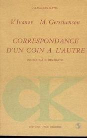 Correspondance D'Un Coin A L'Autre - Couverture - Format classique