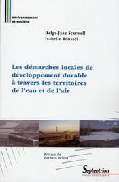 Les démarches locales de développement durable à travers les territoires de l'eau et de l'air - Intérieur - Format classique