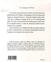 Les nuages de paris - 4ème de couverture - Format classique