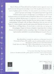 Mer miroir de l infini - 4ème de couverture - Format classique