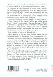 Un juge en italie - 4ème de couverture - Format classique