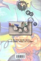 Graffiti t.2 - 4ème de couverture - Format classique