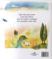 Prier avec nos enfants - 4ème de couverture - Format classique