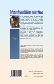 Histoires bleu marine - 4ème de couverture - Format classique