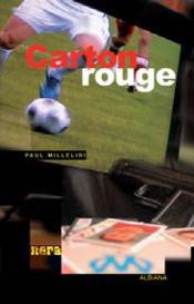 Carton rouge - Couverture - Format classique