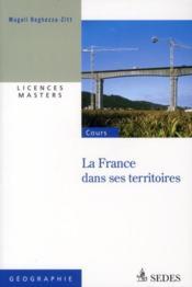 La France dans ses territoires - Couverture - Format classique