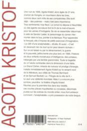 Romans, nouvelles, théâtre complet - 4ème de couverture - Format classique