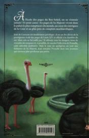 Sabotages en série à Versailles - 4ème de couverture - Format classique