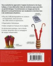 Dictionnaire en images ; anglais/français - 4ème de couverture - Format classique